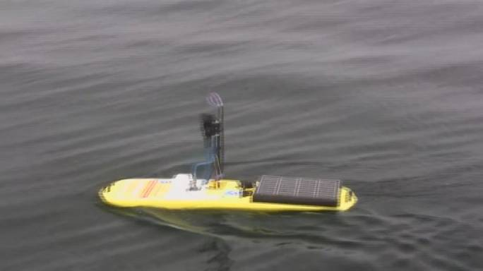 طائرات بدون طيار تستكشف المحيطات