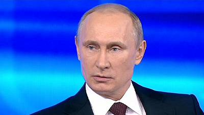 Putin hits out at claims Russia is behind unrest in eastern Ukraine