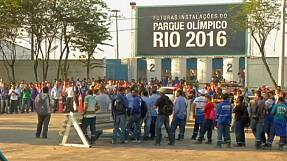 sport: Rio 2016: Workers end strike but concerns over delivery dates remain