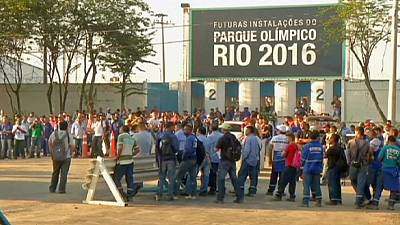 Rio 2016: Workers end strike but concerns over delivery dates remain