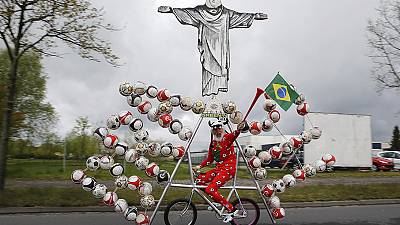 El Diablo gears up for Brazil's World Cup