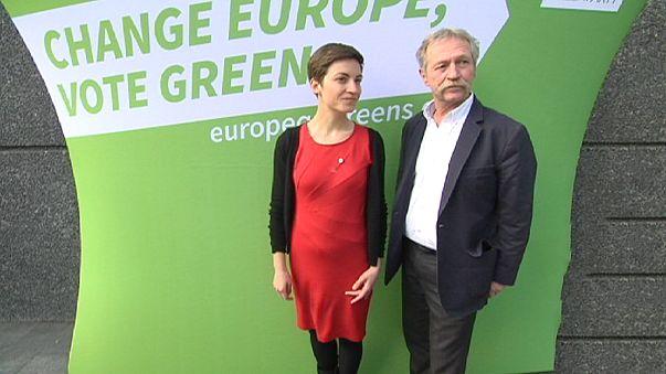Eleições Europeias pintadas de verde