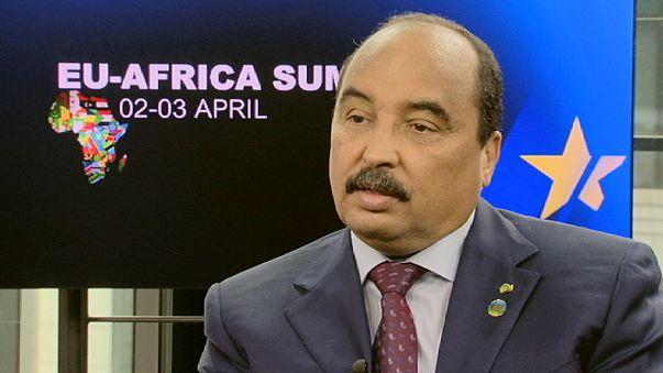 """Mohamed uld Abdel Aziz, presidente de Mauritania: """"Espero que África se convierta en la locomotora de la UE"""""""