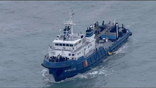 South Korea: Operation to recover submerged ferry 'could take two months'
