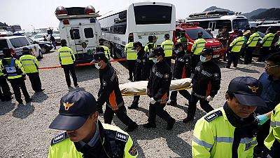 South Korea recovers more dead from ferry