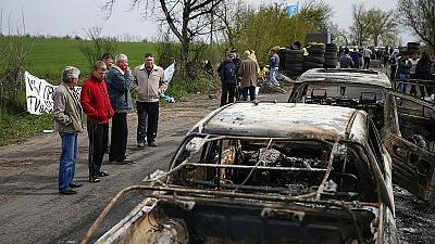 Deadly gunfight shakes Easter truce in Ukraine