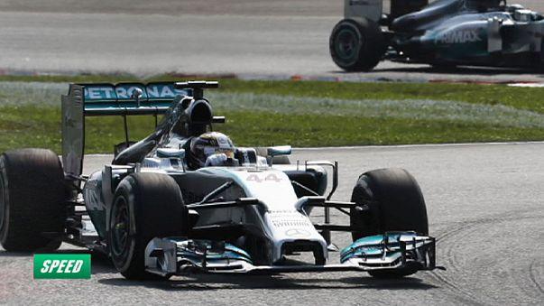 Mercedes Lewis Hamilton ile uçuyor