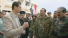 Syria: Confident Assad leaves safety of Damascus to visit recaptured Maaloula