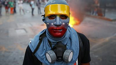 Easter protests grip Venezuelan capital