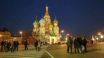 Cartoline da Mosca: la Cattedrale di San Basilio
