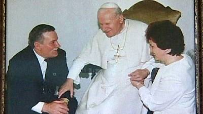 John Paul II: 'I just shook the tree'