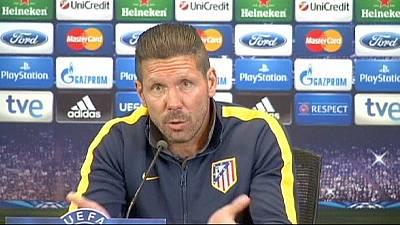 Champions League: Atletico Madrid v Chelsea