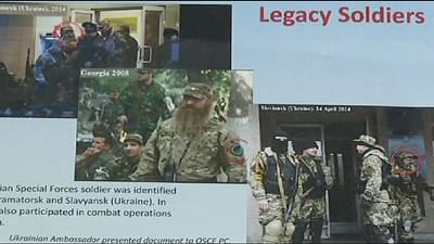 Ukraine: US releases photos of alleged Russian special forces in the east