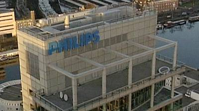 Philips profit falls on strong euro, slowing demand in China and Russia