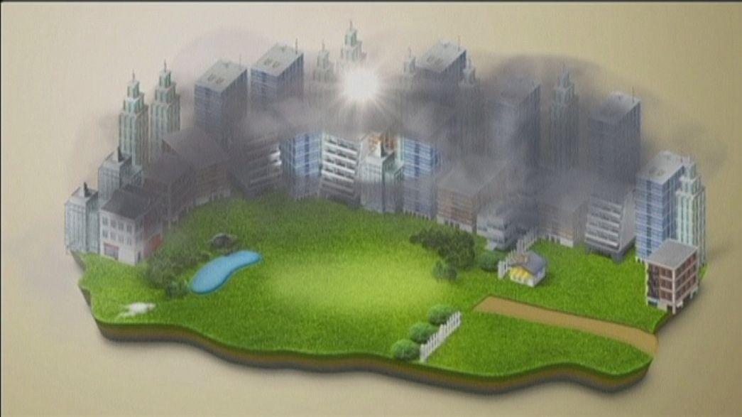 Una aspiradora gigante para convertir niebla tóxica en diamantes