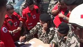 Aid convoy reaches remote Lebanese village of Tfail