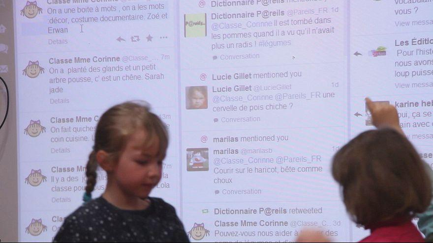 ¿Dejaría que un párvulo tuiteara en clase?