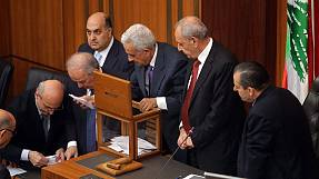 No winner in first round of Lebanese presidential vote