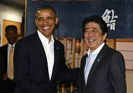 Obama reassures Japan on China as Asia trip begins