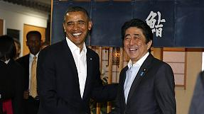 Obama beginnt Asienreise in Tokio