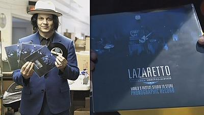Vinyl rocks on with super speedy Jack White single