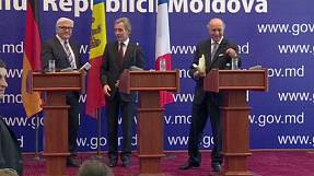 France's Fabius calls for Moldova to be brought into European Union