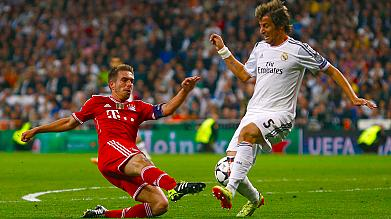 Champions League: Real Madrid beat holders Bayern in semi-final first leg
