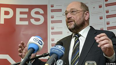 Schulz European Socialists' choice to preside over European Commission
