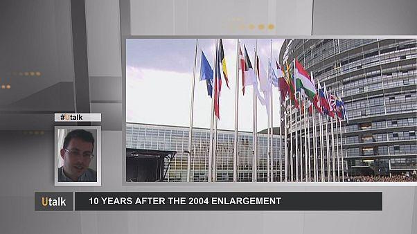 نتایج ده سال گسترش اتحادیه اروپا چه بوده است؟