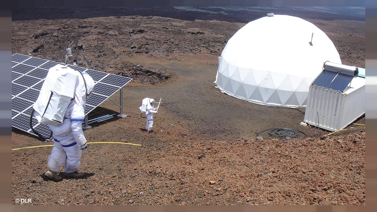 Time, toilets and tomatoes: Lucie looks back at 'life on Mars'