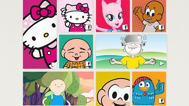 Διάσημα καρτούν χωρίς μαλλιά κατά του παιδικού καρκίνου
