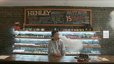 Chicago and New York ban vaping in indoor public paces