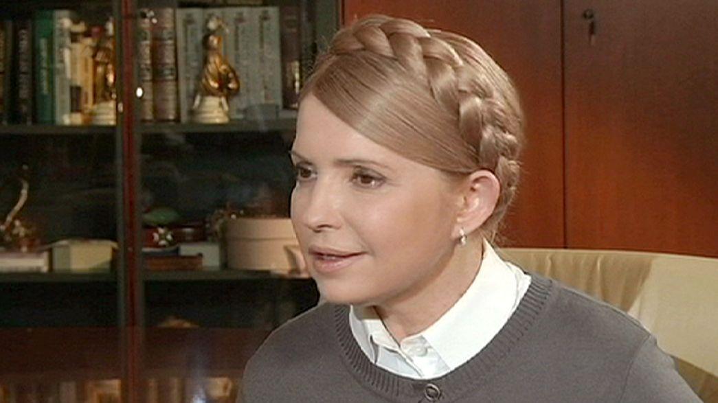 """Yulia Timoshenko: """"La cuenta atrás para el final del régimen de Putin ha comenzado"""""""