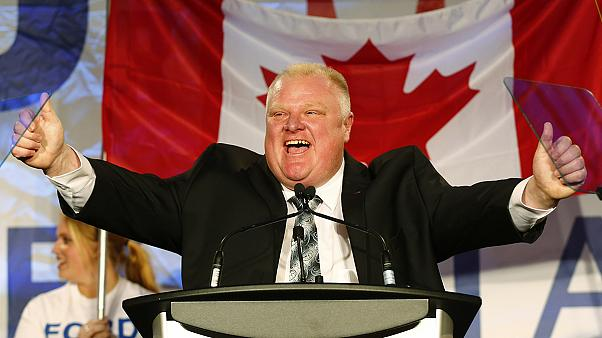 Canada: Toronto mayor seeks help for drinking