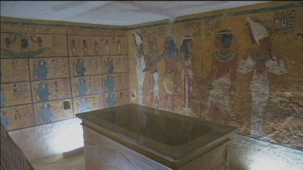 تدشين النسخة طبق الأصل من مقبرة توت عنخ آمون في الأقصر