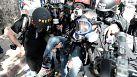 Scènes de guérilla urbaine dans les rues d'Istanbul