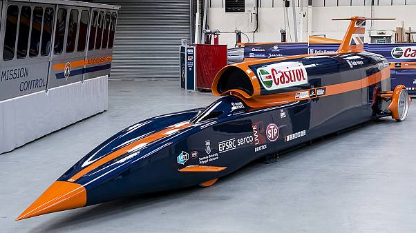 Raketenauto der Superlative: Bloodhound SSC