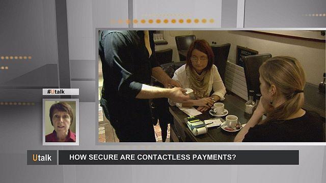 البطاقة المصرفي دون تماس