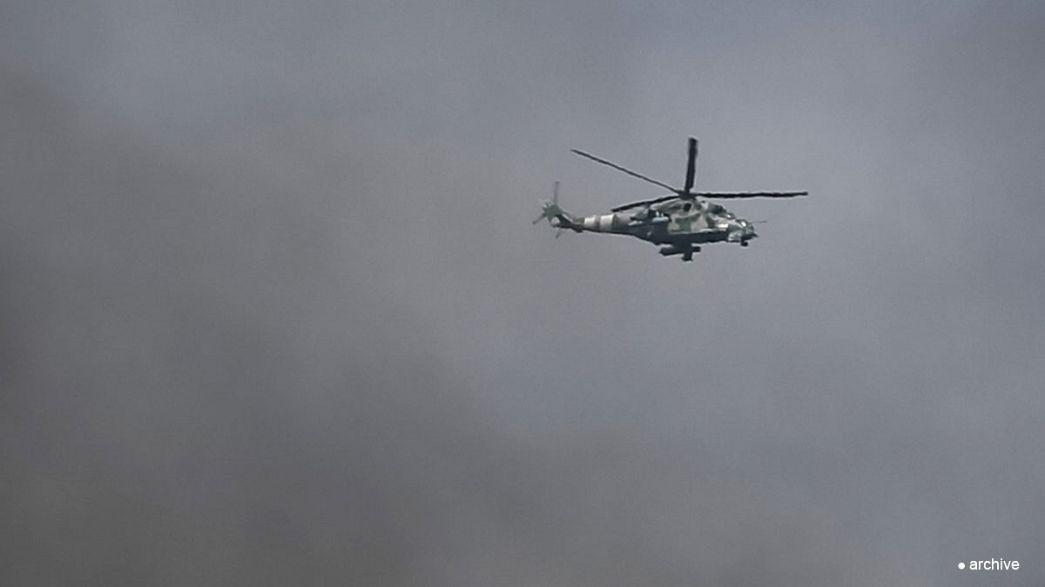Ukraine : deux militaires tués, deux hélicoptères abattus à Slaviansk, selon les autorités
