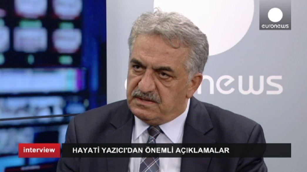 Hayati Yazıcı'dan Avrupa'ya Suriye mesajı: Savaşmaya gidenleri göndermeyin