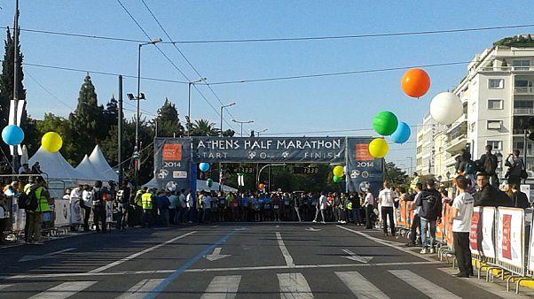 3ος Ημιμαραθώνιος Αθήνας: Γιόρτασαν τον αθλητισμό στους αθηναϊκούς δρόμους