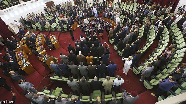 LibyanparliamentpresidentconfirmsAhmedMaiteeqasnewprimeminister
