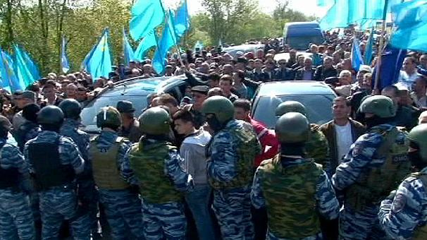Crimean Tatars leader says 'reaction to Russian pressure unknown'