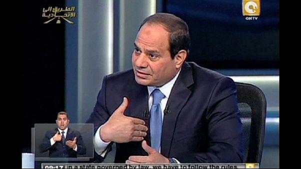 """السيسي يؤكد ان المصريين """"انهوا الاخوان المسلمين"""""""