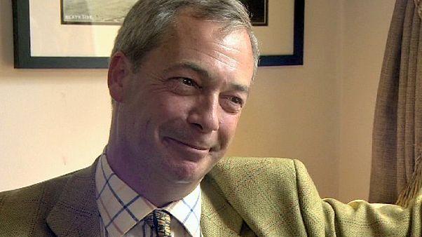 Найджел Фарадж: британский евроскептик с европенсией