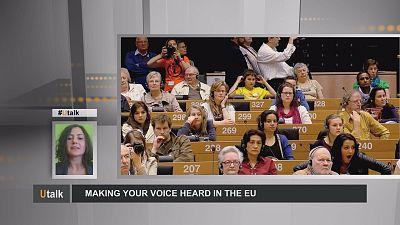 ¡Hágase oir en la UE!
