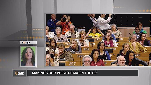 Faire entendre votre voix dans l'UE