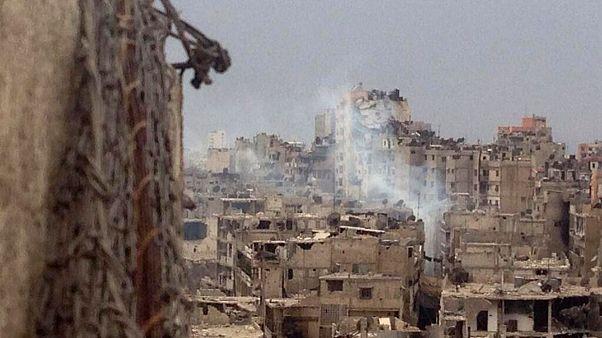 Homs, la imagen de la destrucción del conflicto sirio
