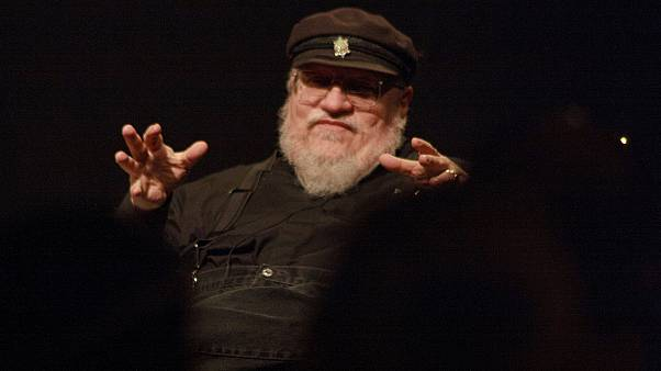 Game of Thrones' George R.R. Martin unveils cover of new book