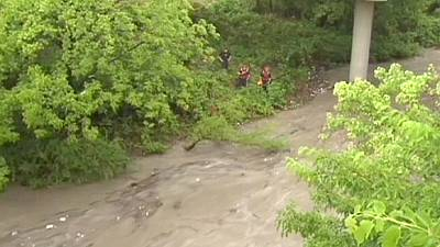 US teenagers saved from Dallas flash floods